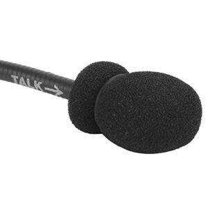 banapoy Microphone Tactique Noir Z, Microphone Tactique de Fabrication Professionnelle, pour Peltor Comtac Comtac II Comtac III Armorwerx