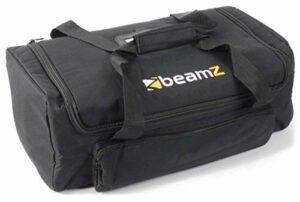 BeamZ AC-135 – Valise souple pour projecteurs BeamZ, couleur noire, 480 x 250 x 180mm, transport de jeux de lumière, idéal DJ mobiles