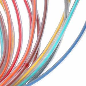 Câble Snake 8 canaux, câble Snake XLR, haute qualité pour l'audio et la vidéo HIFI, microphones faciles à connecter 4.9ft(blue, 1.5 fans)