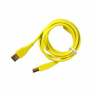 DJ TECHTOOLS DJTT USB Chroma Câble Green 1,5 m, fiche droite