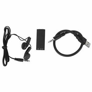 Enregistreur Audio-Mini enregistreur Audio Portable 96 Heures de Stockage Audio 8 Go de mémoire USB Powerd Home Supplies