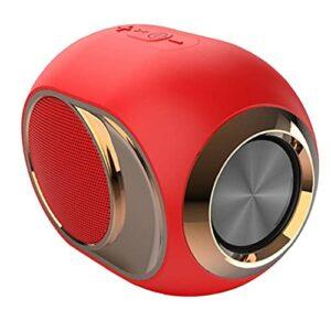 Haut-parleur sans fil portable, sons stéréo Sound TWS Haut-parleur avec connexion rapide Effet de basse riche en micro