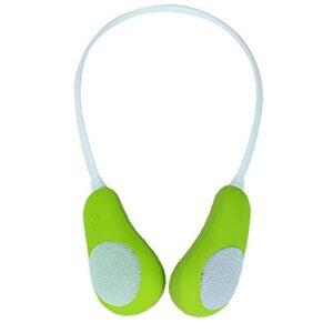 Haut-parleurs sans fil surround portables haut-parleur surround en surround portable avec micro-couverture transparent surround vert
