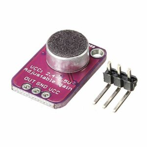 HEQIE-YONGP 3pcs max4466 amplificateur à Microphone électret électret CMA-4544PF-W – Produits Qui fonctionnent avec des Conseils Officiels