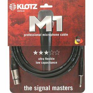 Klotz M1Fp1K0200 Xlr To Jack Cable Câble 2 m