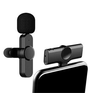 Micro-cravate Sans Fil, Micro USB Portable De Type C Plug Play Pour Le Podcasting Appareils Photo, Ordinateurs Portables
