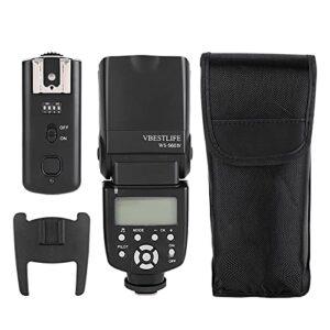 ROMACK Flash Speedlite Camera Slave Flash Camera Flash Réglage de Sauvegarde Automatique, Appareil Photo
