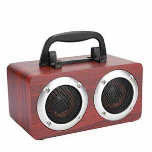 Shanrya Boîte de Son à Transmission Haute Vitesse, Haut-Parleur, pour téléphones Mobiles, Ordinateurs, tablettes, Camping intérieur, extérieur,