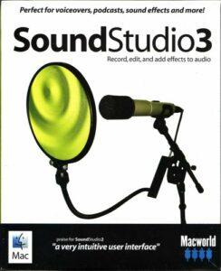 Sound Studio 3 (version anglaise)