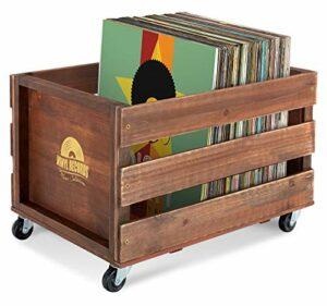 Stagecaptain SPK-100 BK caisse à disques «Emil» brune