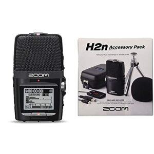Zoom – H2n/IFS – Enregistreur 4 Pistes Portable XY et Mid-Side & APH-2n Kit d'accessoires pour H2n Noir