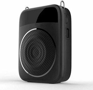 ZOUSHUAIDEDIAN Amplificateur Vocal Vocal Audio Microphone sans Fil Amplificateur for Les Enseignants, Guides touristiques, Coache for Les Enseignants, Guide Touristique, entraîneurs, Présentation