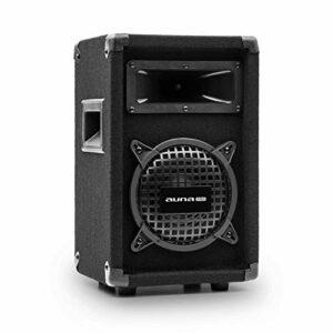 AUNA Pro PW – Enceinte de Sono Passive, Enceinte 2 Voies, impédance: 8 ohms, Noir, subwoofer 16,5 cm (6,5″) / médium, Puissance : 125 Watts RMS / 250 Wmax. – Noir