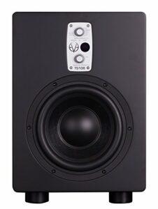 EVE audio TS108 Active subwoofer 150W Schwarz – Subwoofer (150 W, Aktiver Subwoofer, 33-300 Hz, 105 dB, 19,5 cm, 20,3 cm (8 Zoll))