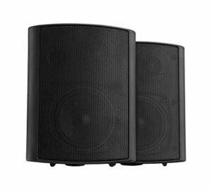 Pronomic USP-540 BK la Paire HiFi Haut-parleurs muraux Box Noir 160 Watt