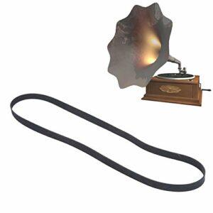 Courroie de platine, remplacement de la courroie du tourne-disque en caoutchouc pour la plupart des types de platines à entraînement par courroie(1L10 200mm)