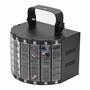 Largement utilisé pour la Barre Ktv, la Salle de Bal, Les fêtes sur scène, Effet de lumières de scène à LED, Son Automatique RVB 9 Couleurs pour la fête de Noël Ktv 220v