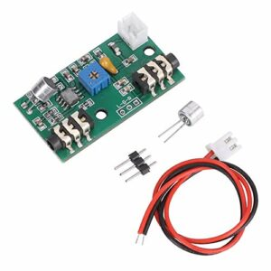 Module d'amplificateur de carte de microphone 2.6-10V Amplification de Signal Audio vocal Gain réglable DC