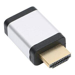 MOH Multimédia HD -4K Adaptateur d'interface multimédia HD mâle à Femelle Compatible pour Switch/Xbox One S/360/PS5/PS4