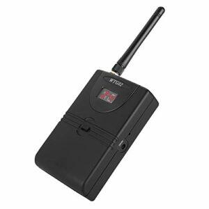 ROMACK Récepteur de système de Moniteur Intra-auriculaire sans Fil jusqu'à 30 mètres de Transmission sans Fil d'enregistrement de Studio de Surveillance Bande ISM de 2,4 GHz