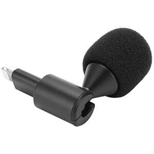 SALUTUY Microphone sans Fil, Microphone Plug‑Play Flexible Connecter l'interface iOS pour Le vlogging pour Les téléphones Mobiles/tablettes iOS